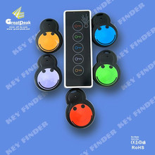 Electronic wireless keychain locator smart key finder with led flashlight XLF-KF