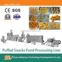 Stainless steel industrial core filling snacks production maker