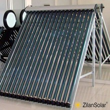 EN12975 and SRCC certified heat pipe solar collector 18tubes