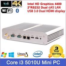 Wholesale Latest desktop computer models Core i3 5010U Mini PC Windows 10 Mini computer Broadwell Latest intel CPU Low price