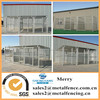 5'X10'X6' heavy duty galvanized steel dog pens enclousures outdoor welded mesh dog kennels