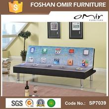 printable fabric living room sofas cum bed