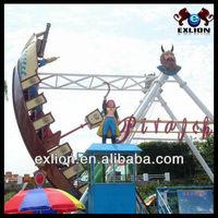 2013 [superior] aqua park amusement rides kiddie Ride Mini Inflatable Pirate Ship