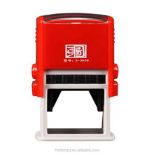 2015 New Design Top Quality Custom Rubber Plastic Self-Inking Stamp