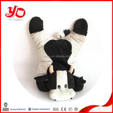 Funny cow pillow customized promotional toy, soft cow pillow toys wholesale
