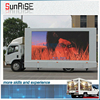 p10 high brightness led truck display electronic outdoor advertising led