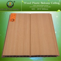 High Quality Wood Plastic Composite Ceiling Designs for Homes