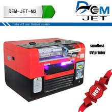 Full color images uv digital printing with uv led light pen , phone case , pvc card printer