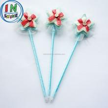 Fashion plush feather ball pen , star shaped gift ball pen