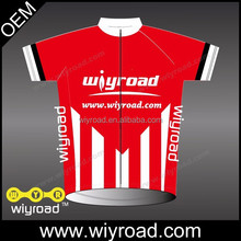 Custom service cycling kit 2015/cycling suit red/team sports wear cycling with very good price