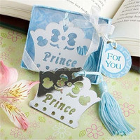 300pcs Princess Crown Bookmark baby shower party favors wedding favor DHL Freeshipping