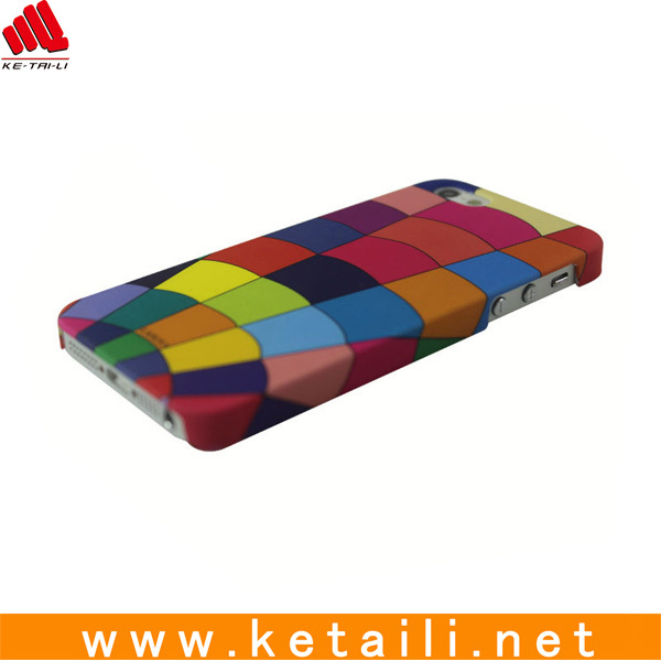 Newest design plastic printed cell phone case for iphone 5