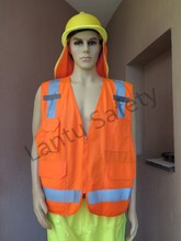 Europe and USA standard EN ISO 20471:2013 ANSI/ISEA 2010 Reflective Safety Vest