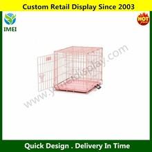 Pink Pet Crate Portable Folding Cage Training Travel Dog Cat Kennel YM5-540