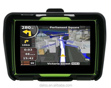 Motorcycle GPS Navigator waterproof 4.3'' TFT touch screen 128M DDR + 8GB Flash memory GPS