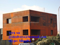 shipping/ container /house steel wall panels with corten steel