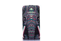 Hot Selling Product Animal Elephant Pattern Cover Flip Protective Leather Mobile Phone Case With Card Holder For Nokia 630
