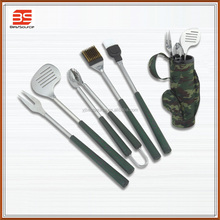 Hot sell golf bbq tool set with travel bag