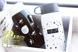 Low MOQ high quality food grade stainless steel water bottle insulated flask