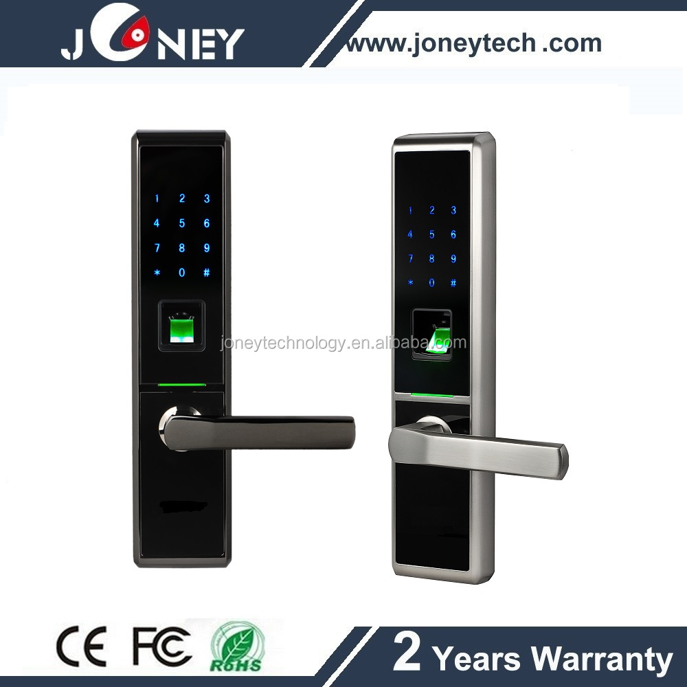 Touch ten digital keypad fingerprint entry door lock for 1 touch fingerprint door lock