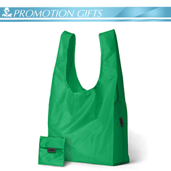 hot polyester foldable shopping bag