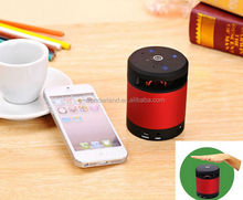 Hand Gesture Recognition Mini Cylinder Portable Magic Bluetooth Speaker Read SD Card