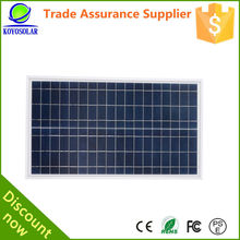 100w poly pv solar panel with full certificate for home appliance