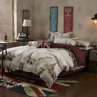 Fashion Bedding Set Bed king, queen, twin, full Sheet / Duvet Cover / Pillowcase 4 Pcs Bed Set Comforter Bedding Sets