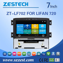 auto steering wheel for Lifan 720 auto steering wheel with car radio AM/FM RDS 3G Internet