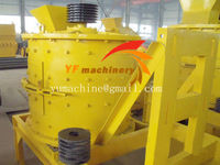 Vertical compound crusher used for crushing iron mineral