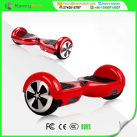 smart two wheel gyro scooter with LED light and Max Speed 15km/h two wheel gyro scooter