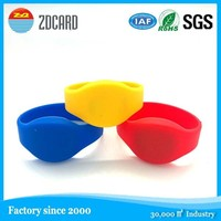 125khz/13.56mhz high security hot selling wristband rfid