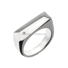 Alibaba Hot Selling Mens Hand Rings Stainless Steel Ring Made In China