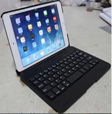 Aluminum Bluetooth Keyboard Cover Case For Apple iPad Mini 2