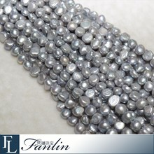 High quality 10 - 11mm large loose baroque pearl