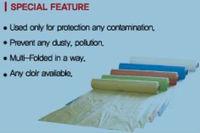 Automotive paint use plastic masking film