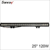single row 25 inch 120w firefly light bar for suv/offroad/atv/utv