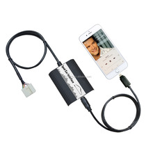 For Toyota Lexus iPhone 6S/5S Car Aux in Audio Interface Adapter with Certificated Lightning Cable