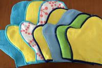 18*21cm 20*23cm 22*27cm microfiber cleaning glove