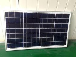 2015 new goods 35w poly-crystalline solar panel