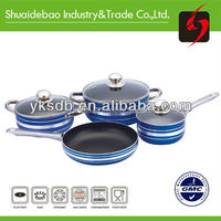 Yongkang simple cooking aluminum nonstick korkmaz cookware