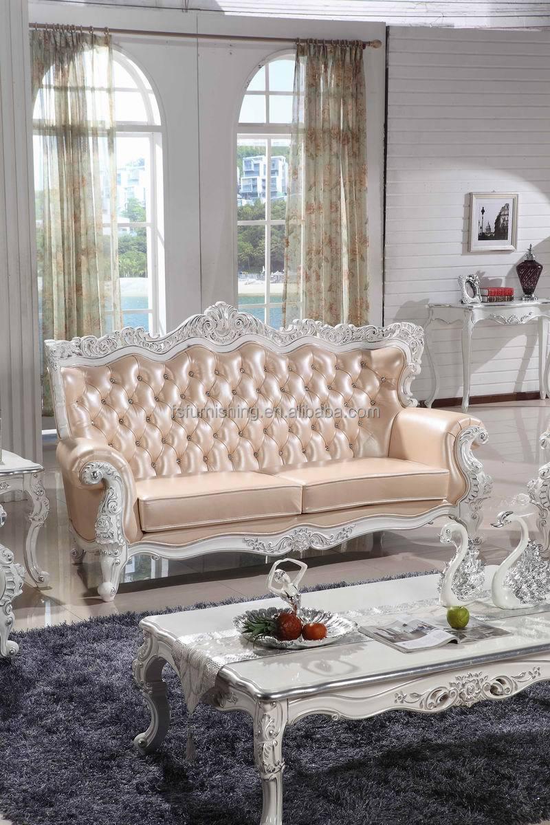 KB075 koningin elizabeth koninklijke roze lederen wit hout ...