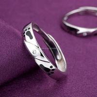 925 silver jewellery paypal shopping romantic fashion japanese couple cheap diamond ring