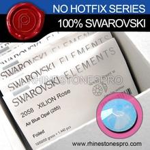 Original Swarovski Elements Air Blue Opal (285) 9ss Flat Back Crystal Stone