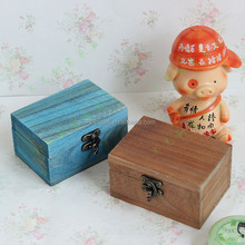 2015 Antique-Vintage Old Wood-Wooden box in different colors