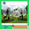 1.0mm TPU bubble football/bumper ball/human sized soccer bubble ball for sale