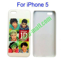 Famous Star One Direction Hard Case for iPhone 5