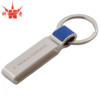 Metal Leather Strap Key Chain with Personalized Engraved Keychain