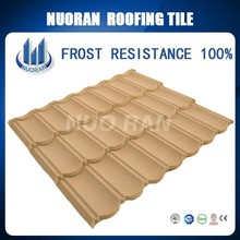 Colorful Stone Coated Steel Roof Sheet , Galvanized Aluminum Roof
