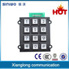matrix keypad high quality access control keypad locks telephone number keypad